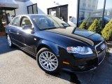 2008 Moro Blue Pearl Effect Audi A4 2.0T quattro Sedan #43145331