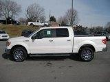 2011 White Platinum Metallic Tri-Coat Ford F150 Lariat SuperCrew 4x4 #43145150
