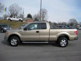 2011 Pale Adobe Metallic Ford F150 XLT SuperCab 4x4 #43145152