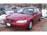 2002 Firepepper Red Pearl Honda Accord EX Sedan #43145482