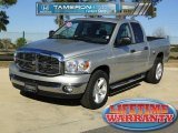 2008 Bright Silver Metallic Dodge Ram 1500 Lone Star Edition Quad Cab #43145680