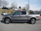 2011 Sterling Grey Metallic Ford F150 XLT SuperCrew 4x4 #43145163