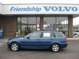 2002 Topaz Blue Metallic BMW 3 Series 325xi Wagon #43145169