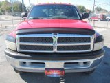 2000 Flame Red Dodge Ram 3500 SLT Extended Cab 4x4 Dually #43185148
