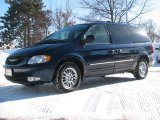 2003 Midnight Blue Pearl Chrysler Town & Country Limited AWD #43184924