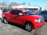 2008 Radiant Red Toyota Tundra Limited CrewMax 4x4 #43184745