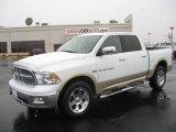 2011 White Gold Dodge Ram 1500 Laramie Crew Cab 4x4 #43184986