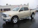 2011 White Gold Dodge Ram 1500 Lone Star Crew Cab 4x4 #43184990
