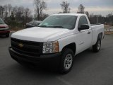 2011 Summit White Chevrolet Silverado 1500 Regular Cab #43185269