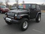 2010 Black Jeep Wrangler Sahara 4x4 #43185272