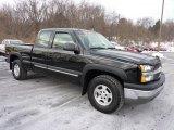 2003 Black Chevrolet Silverado 1500 LS Extended Cab 4x4 #43184771