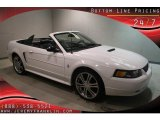 2001 Oxford White Ford Mustang V6 Convertible #43184543
