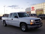 2004 Summit White Chevrolet Silverado 1500 LS Extended Cab #4312897