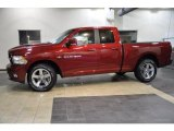 2011 Deep Cherry Red Crystal Pearl Dodge Ram 1500 Sport Quad Cab #43184830