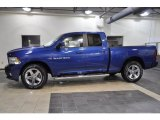 2011 Deep Water Blue Pearl Dodge Ram 1500 Sport Quad Cab #43184831