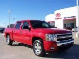 2007 Victory Red Chevrolet Silverado 1500 LT Z71 Crew Cab 4x4 #4312843