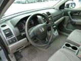 2009 Honda CR-V LX 4WD Gray Interior
