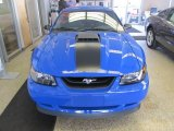 2003 Ford Mustang Azure Blue