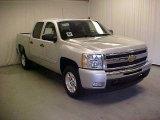 2011 Sheer Silver Metallic Chevrolet Silverado 1500 LT Crew Cab #43185114
