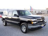 2007 Black Chevrolet Silverado 1500 Classic LS Crew Cab 4x4 #4312855