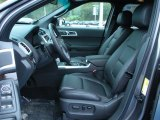 2011 Ford Explorer Limited Charcoal Black Interior