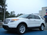 2011 White Suede Ford Explorer XLT #43254359
