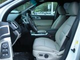 2011 Ford Explorer XLT Medium Light Stone Interior
