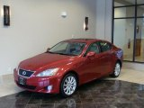2008 Matador Red Mica Lexus IS 250 AWD #43254944