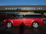 2010 Red Candy Metallic Ford Flex Limited EcoBoost AWD #43254686