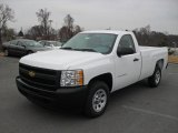 2011 Summit White Chevrolet Silverado 1500 Regular Cab #43255023