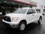 2011 Super White Toyota Tundra Double Cab 4x4 #43254719