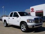 2008 Bright White Dodge Ram 1500 Big Horn Edition Quad Cab #4312921