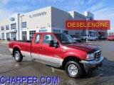 2003 Toreador Red Metallic Ford F250 Super Duty XLT SuperCab 4x4 #43254115