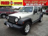 2007 Jeep Wrangler Unlimited Light Graystone Pearl