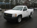 2011 Summit White Chevrolet Silverado 1500 Regular Cab #43255072