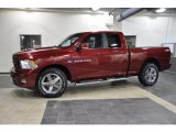 2011 Deep Cherry Red Crystal Pearl Dodge Ram 1500 Sport Quad Cab #43254527