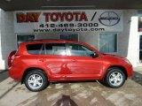 2011 Barcelona Red Metallic Toyota RAV4 I4 4WD #43254210