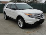 2011 White Suede Ford Explorer XLT #43254548