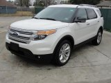 White Suede Ford Explorer in 2011