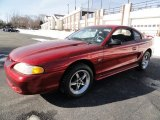 1995 Laser Red Metallic Ford Mustang GT Coupe #43254817