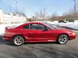 1995 Ford Mustang Laser Red Metallic