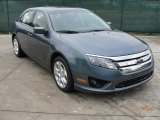 2011 Steel Blue Metallic Ford Fusion SE #43254556