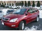 2009 Matador Red Mica Lexus RX 350 AWD #43255265
