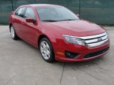 2011 Red Candy Metallic Ford Fusion SE #43254558