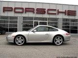2007 Arctic Silver Metallic Porsche 911 Carrera Coupe #4331