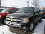 2011 Black Chevrolet Silverado 1500 LT Crew Cab 4x4 #43254929