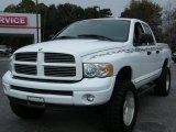 2004 Bright White Dodge Ram 1500 SLT Sport Quad Cab #43338882