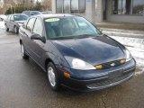 2003 Twilight Blue Metallic Ford Focus LX Sedan #43339231
