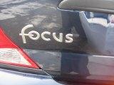 2003 Ford Focus LX Sedan Marks and Logos