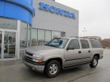 2001 Light Pewter Metallic Chevrolet Suburban 1500 LS 4x4 #43338887